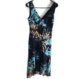 ♡ NEW YORK AND COMPANY TROPICAL DRESS ♡
